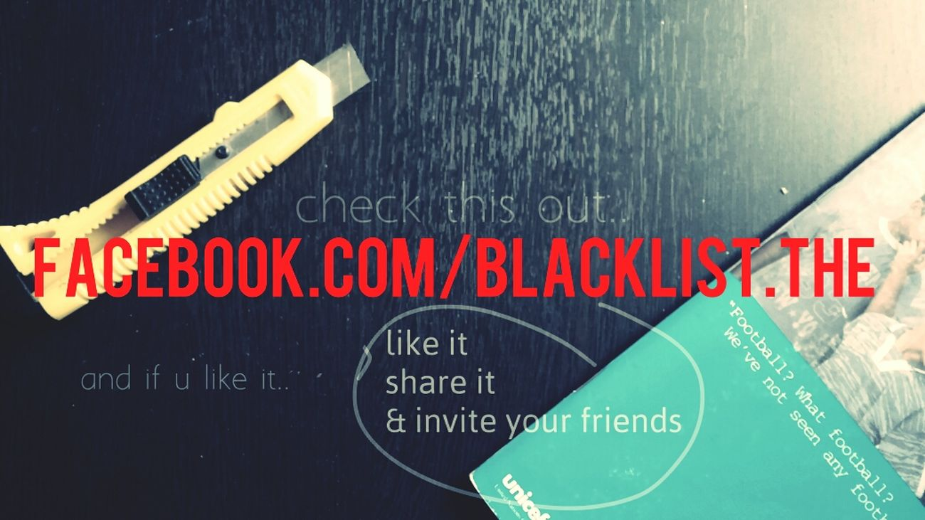 check it out ? www.facebook.com/blacklist.the. tell me what you think Facebook Page Mine Cool Check It Out