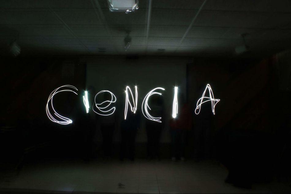 Illuminated Text Communication Night Neon Dark Creativity Light Painting Instapic MexicanGirl Fotografia Awesome Black & White Cool Ciencia Light In The Darkness Luz Escribe Imagination Enjoying Life