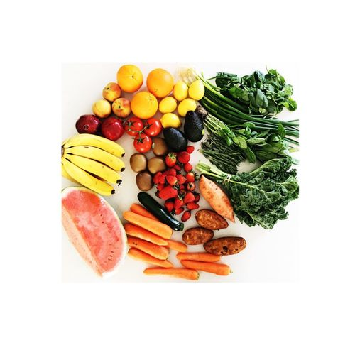 Fruit and Vegetables Vegan Vegetable Rainbow Food Fresh Produce Fresh Fruit Healthy Eating Variation Freshness Food Healthy Lifestyle Abundance No People Food And Drink White Background Multi Colored Ready-to-eat