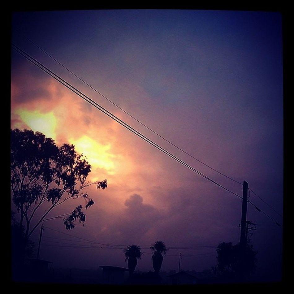 La tarde tenebrosa de hoy en Erendira (01-Marzo-2014)