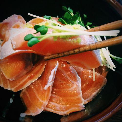 South Korea Seoul Foodporn Salmon Sashimi 👍❤️🐟