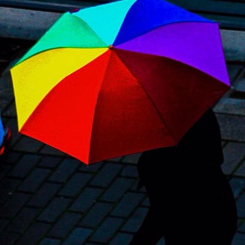 When it rains, express yourself with colors. Rainydaysarehere , Rain , Wet , Weather