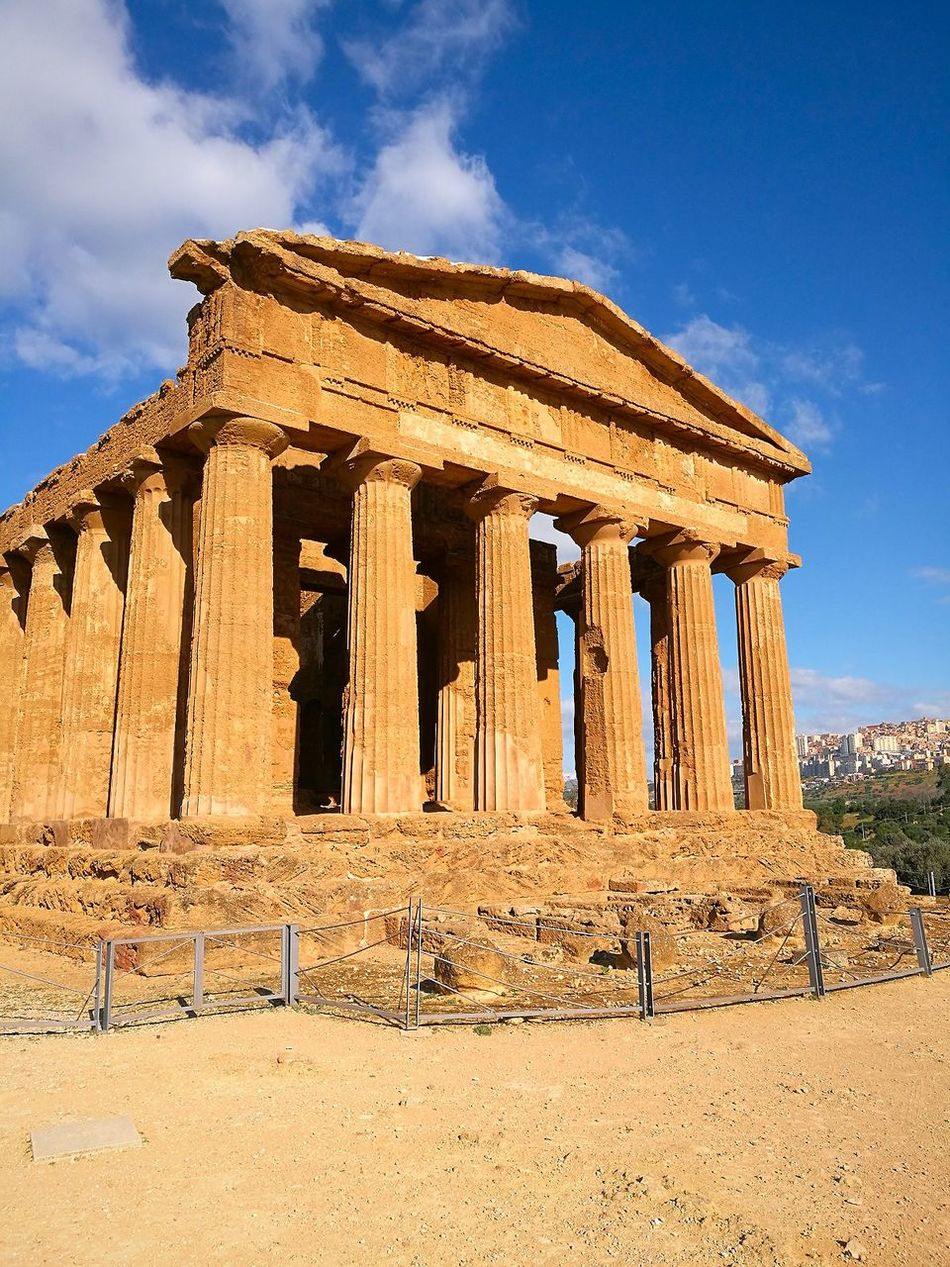 🌺🌴🌸🌴🌺 History Architecture Sky Architectural Column Agrigento Agrigento Sicily Temple Temple Architecture