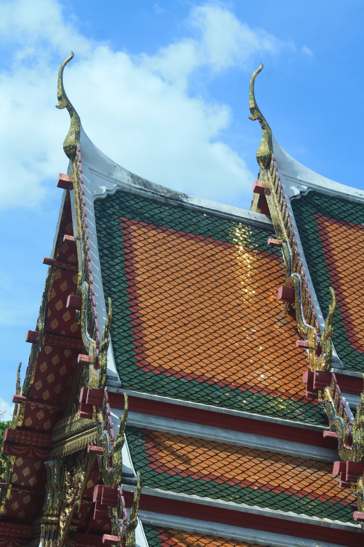 Beautiful stock photos of bangkok, sky, built structure, low angle view, architecture