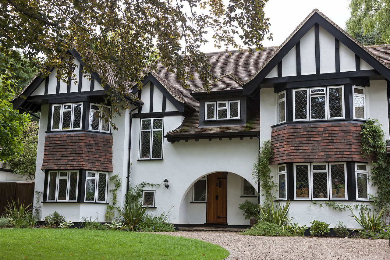Typical english home Apartment Architectural Architecture Building Building Exterior Day Detached House Development England English Home House Houses No People Nobody Outdoors Outside Real Estate Residential  Residential Building Town Townhouse Tree Urban Window
