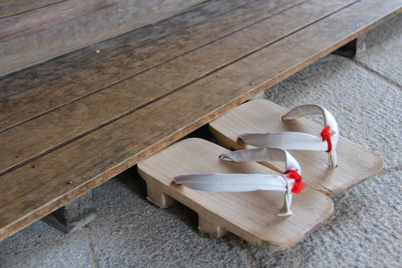 Japan Japanese Tradition Japanese Culture Japanese Footwear Slippers Tradition Close-up Culture Wooden Slippers