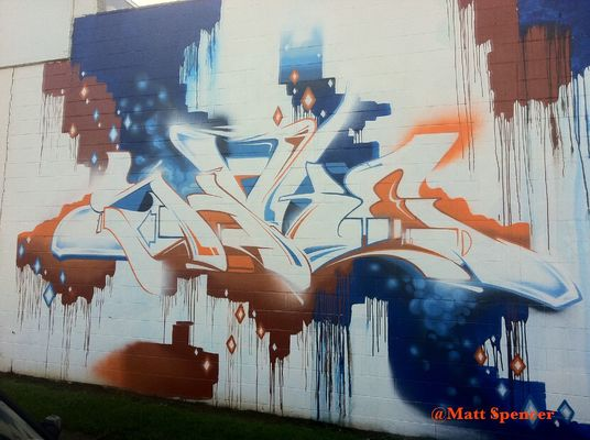 Graffiti by Matt Spencer