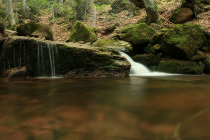 Waterfall Bulgaria In Forest Canon EOS M Long Exposure