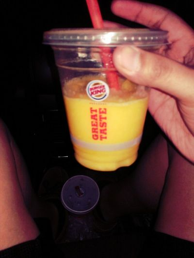 Tropical Mango Smoothie From Burger King