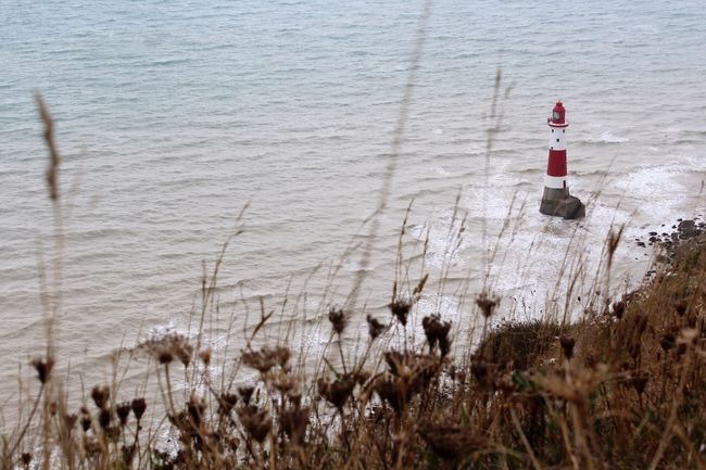 Lighthouse.... Sea Lighthouse Landscape Beachy Head England Seascape Nature Photography Nature Sea View Eastbourne United Kingdom Canonphotography No People
