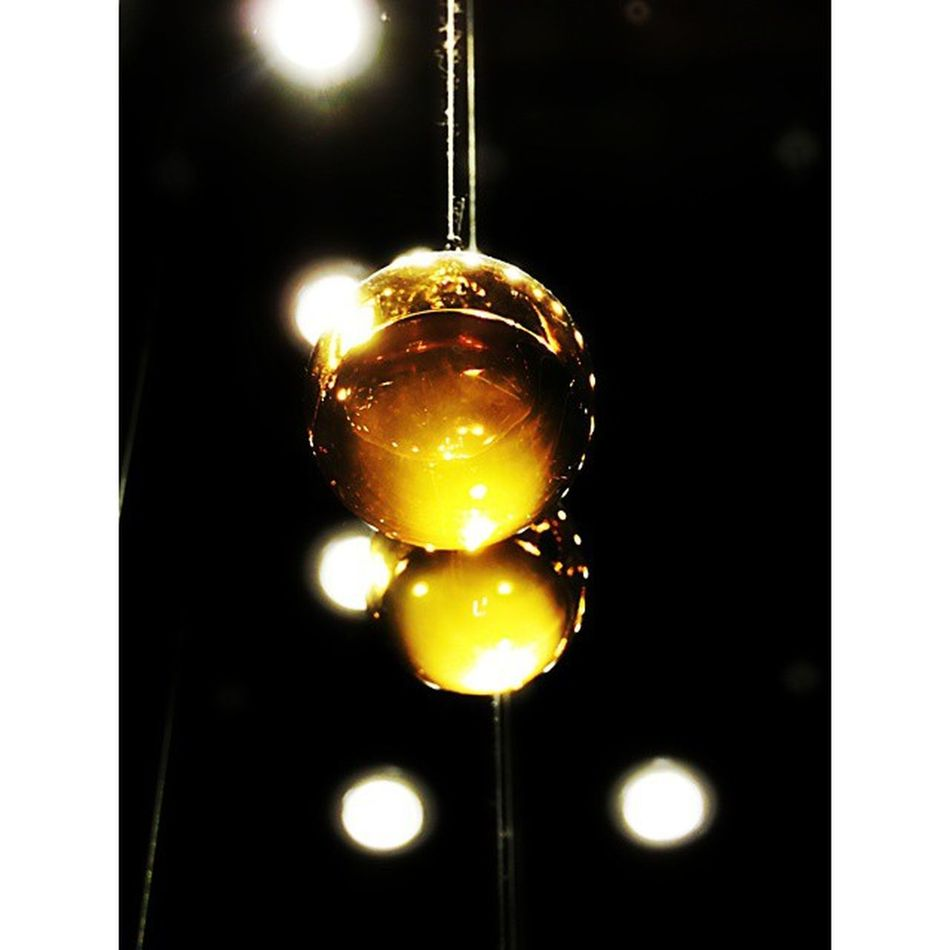 Bubbles Yellow Light Littlethings darkness