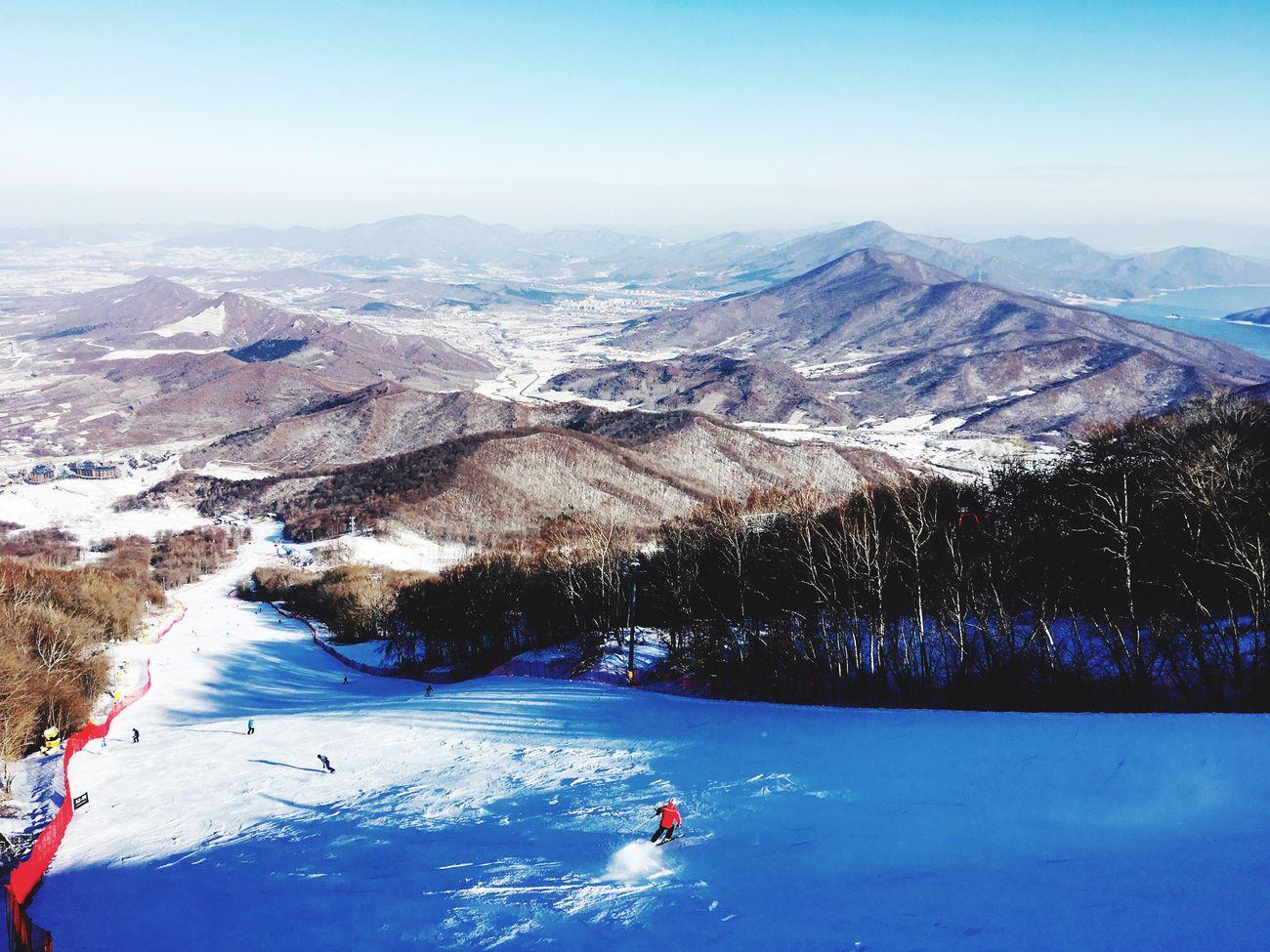 Enjoy The New Normal Mountain Snow Winter