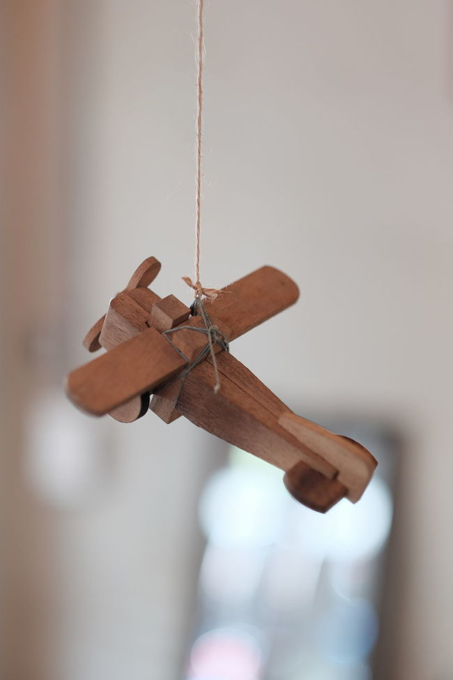 Airplane Brown Change Close-up Damaged Day Focus On Foreground Fragility Handmade Natural Condition No People Toy Wood Woodtoys