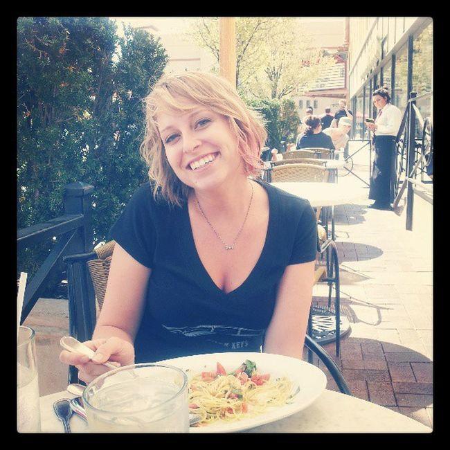 Lovely lunch with my cuz @ksyardbird Kansascityplaza Sunnysunday