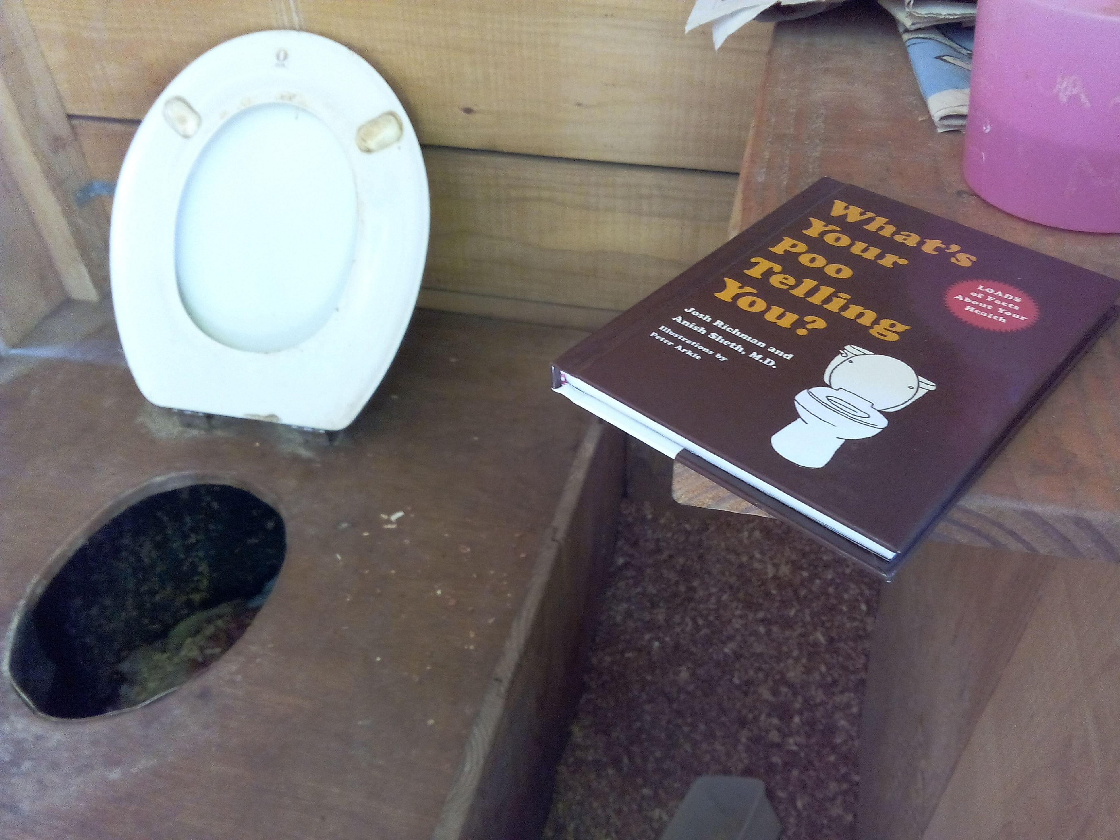 What's your poo telling you ? CompostingToilet