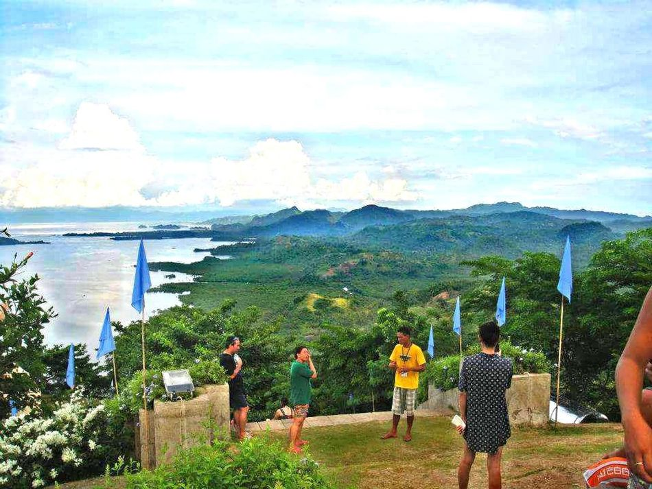 Flying High Caramoan Island, Camarines Sur Leisure Activity Vacations High Angle View Mountain Peak Beauty In Nature