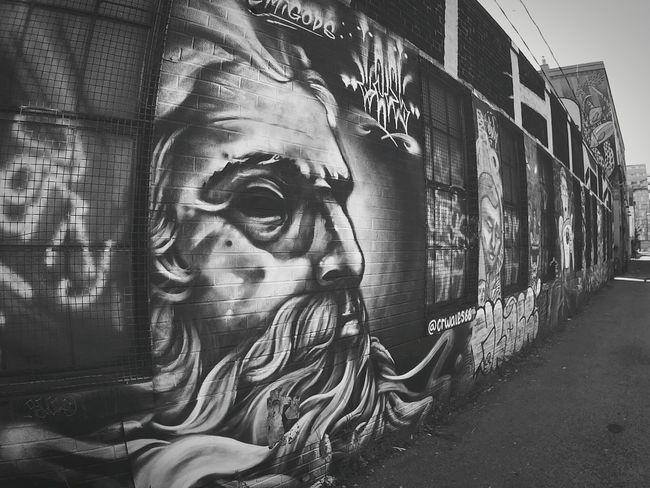 Graffiti Streetphoto_bw Blackandwhite