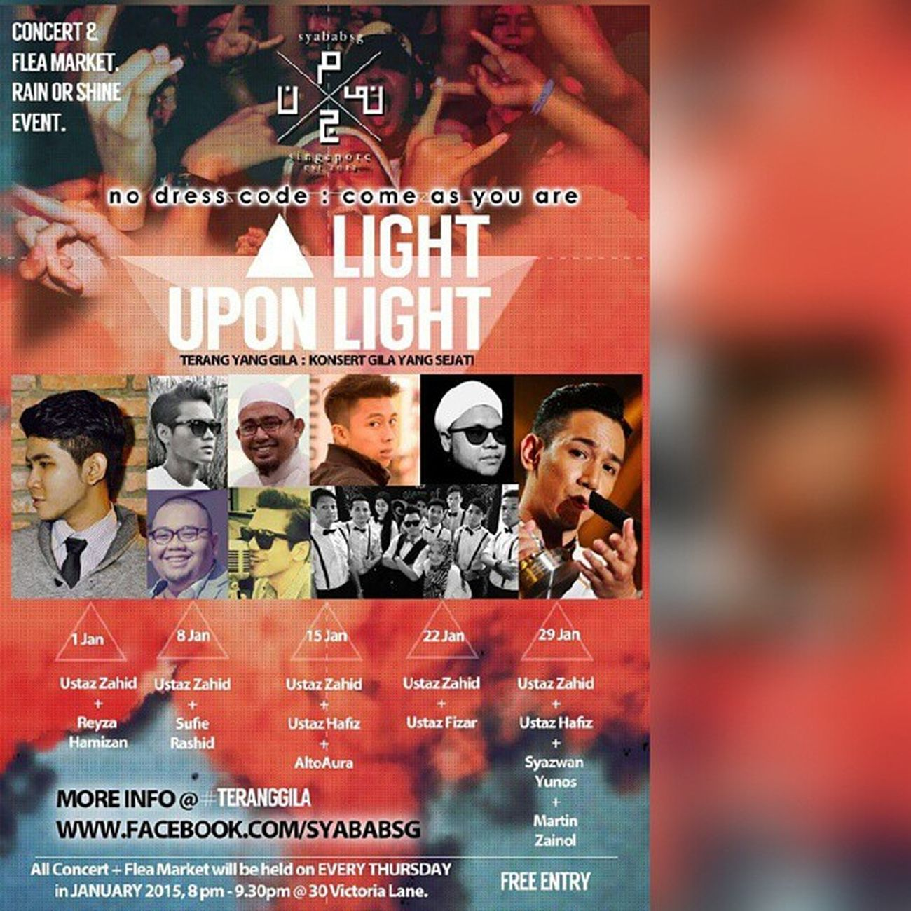 @syababsg proudly presents Light Upon Light Gile ar... Orang gile je tak gi.. Kekekekeke Gojer Mustgo Letsgo January2015