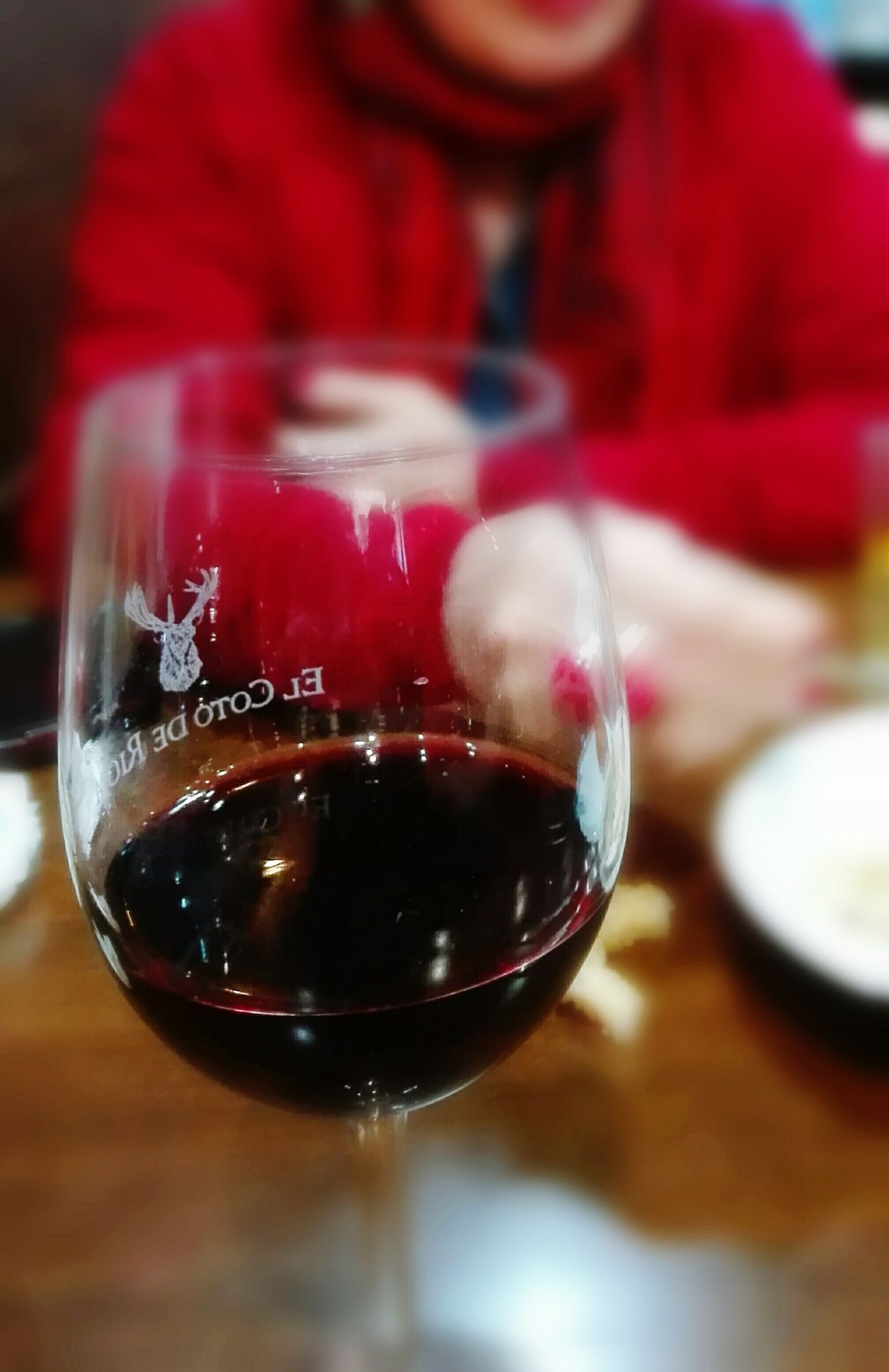 Indoors  Focus On Foreground Reflection Red Drink Food And Drink Close-up Drinking Glass Table One Person People Freshness Day Wine Red Wine Spain♥ Wine Moments Rivera Castro Urdiales (Cantabria)