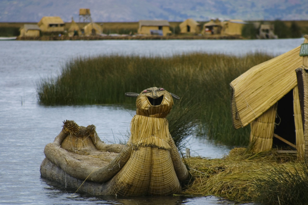 Beauty In Nature Day Lake Nature No People Non-urban Scene Outdoors Peru Puno Scenics Sky Titicaca Tranquil Scene Tranquility Water