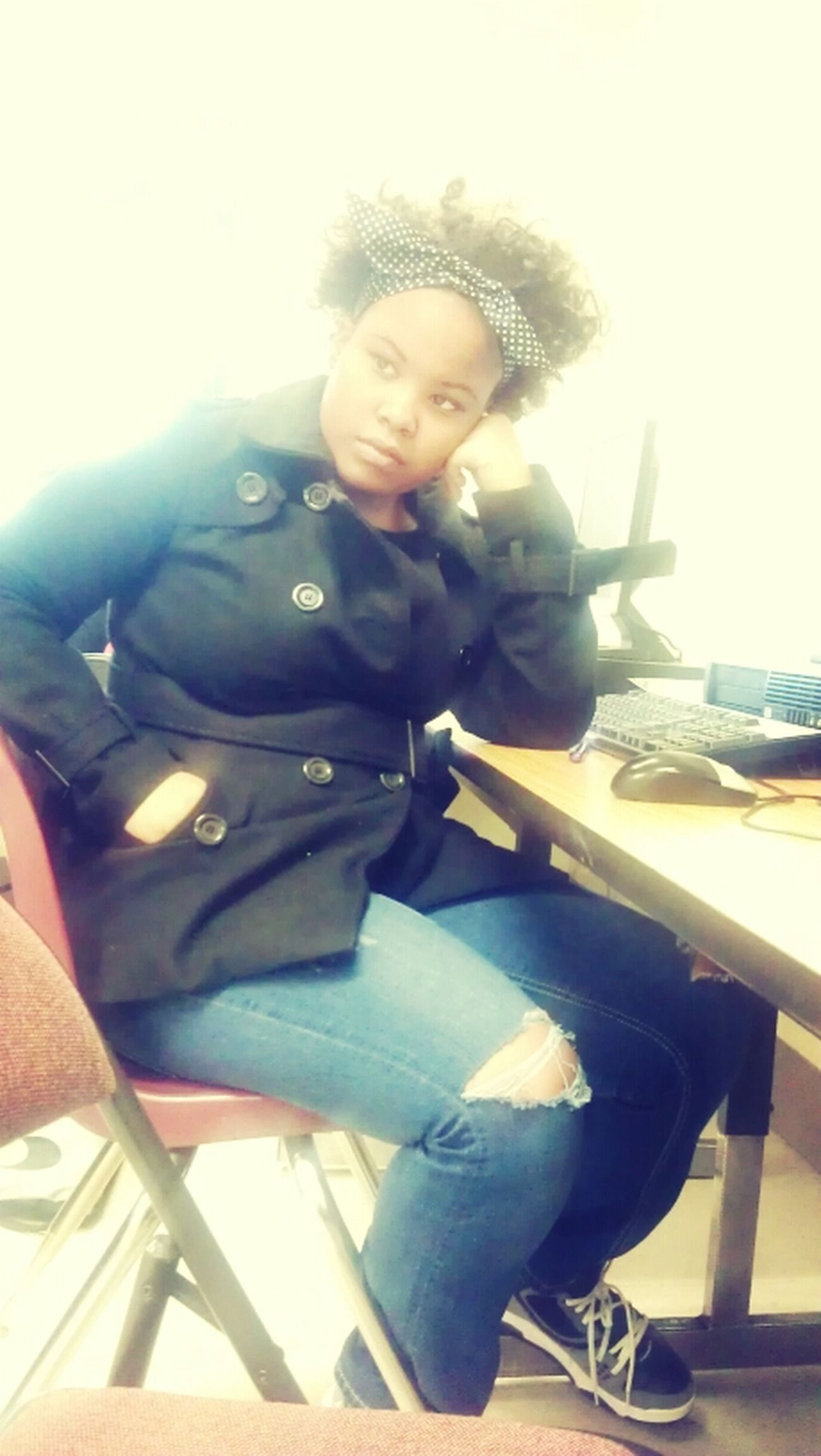 Kamessia In Class Yesterday