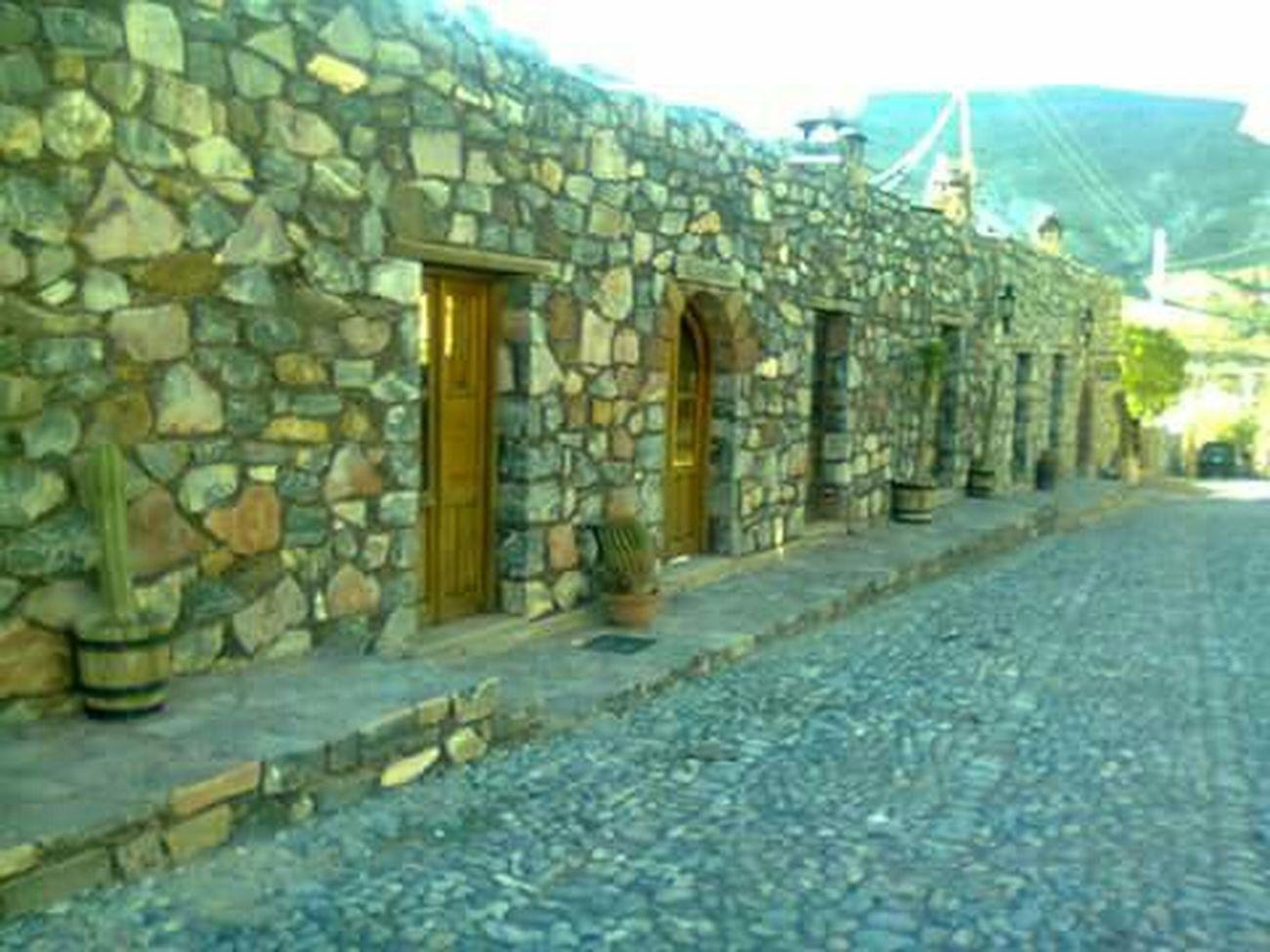 Calles En Ruinas Real De Catorce Esto Es Mexico... Old Street Old Structures