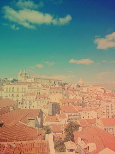 Lisbon Lisboa Taking Photos Summer