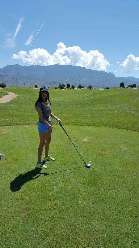 Golfing Hanging Out Enjoying Life Teetime Beutiful Day