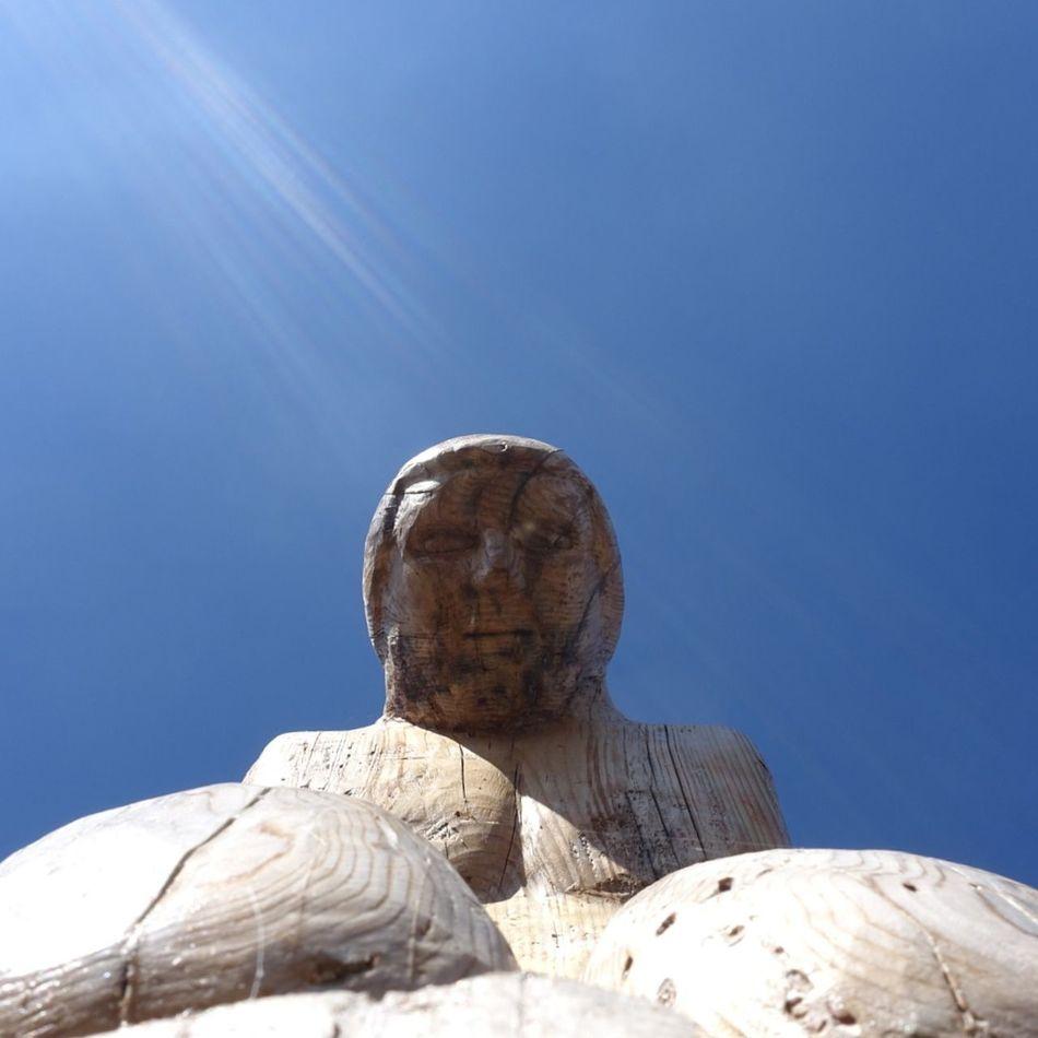 Soul Park @ Parnitha Mountain Sculpture Sculptures Traveling