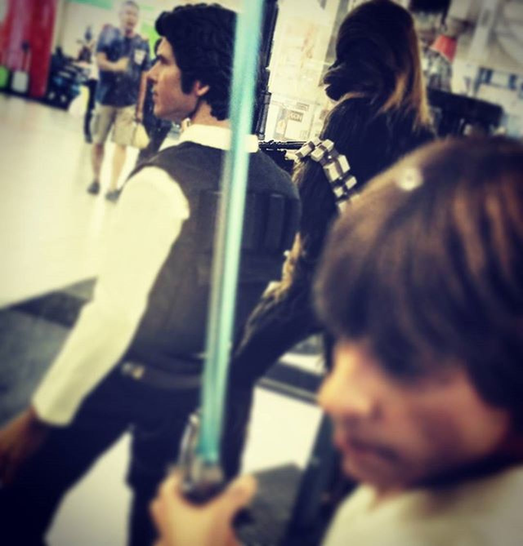 Starwars Hansolo Lukeskywalker Chewbacca