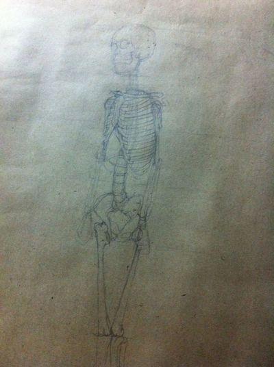 Homework Human Drawing 😂😅