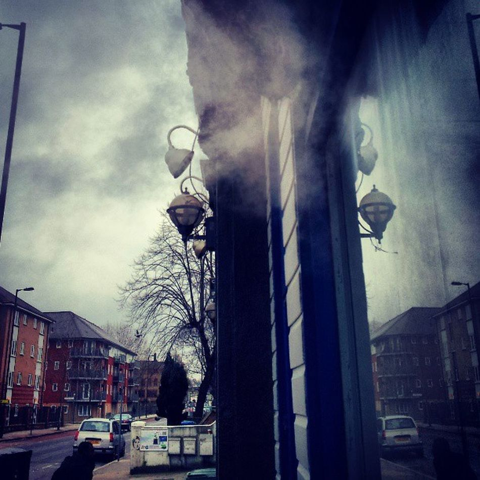 Launderette Lower Road Surreyquays lamp lamps lampreflection steamvent steamvents