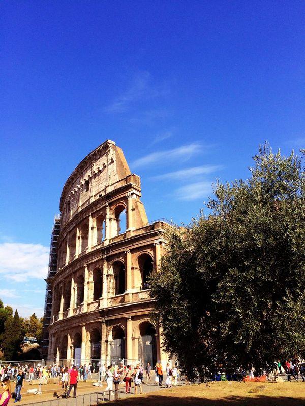 In Rome Colosseum