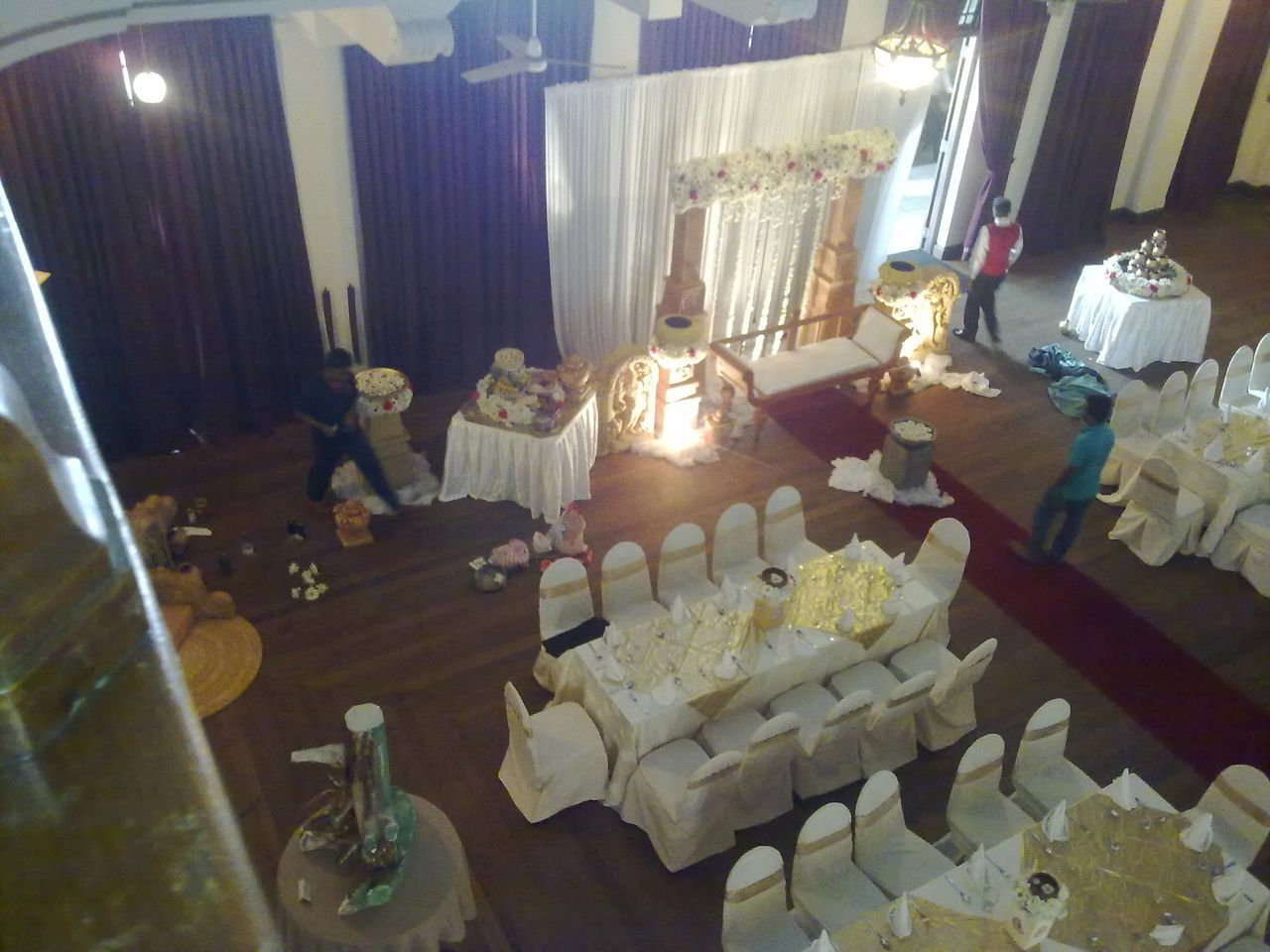 indoors, table, high angle view, celebration, indulgence, food and drink, food, sweet food, candle, no people, cake, dessert, freshness, illuminated, ready-to-eat, day
