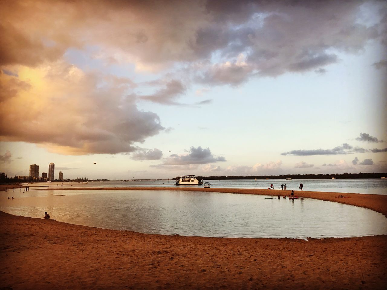 Sea Water Sky Cloud - Sky Beach Scenics Nature Beauty In Nature Nautical Vessel Tranquil Scene City Day Outdoors