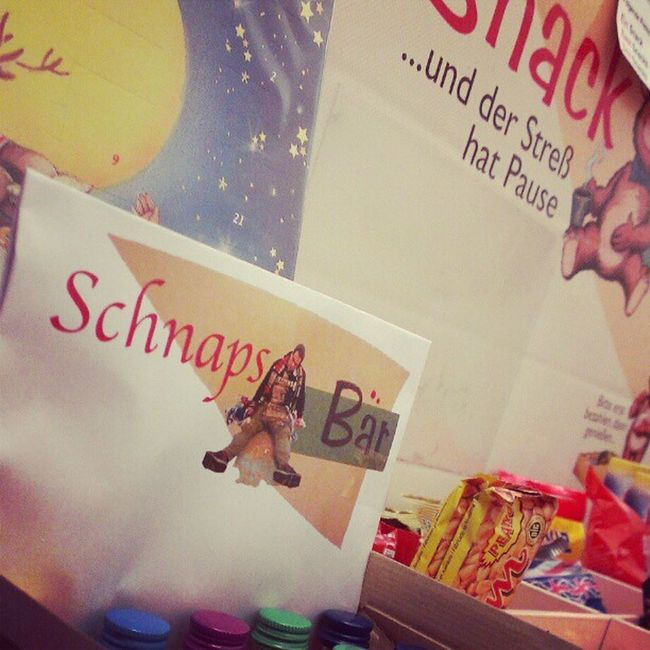 Der kleine Bruder vom #snackbaer ist der #schnapsbaer Snackbaer Schnapsbaer