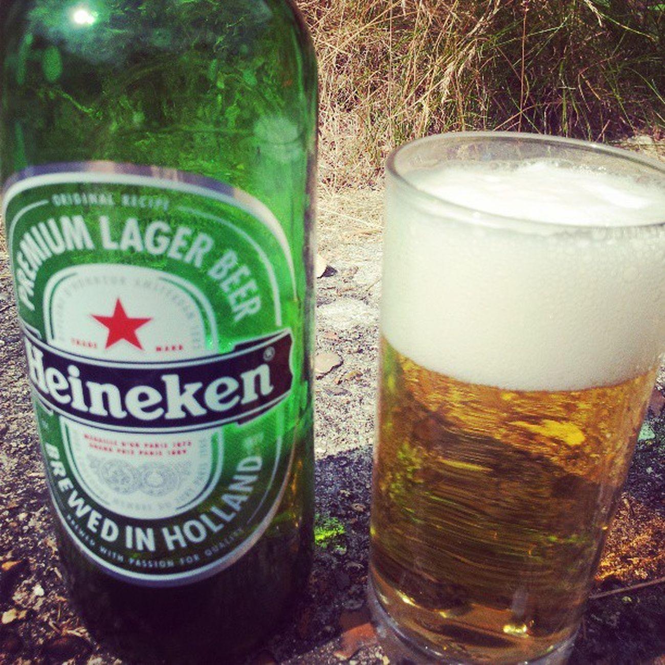 Do you wanna Flake in that love? Heineken Skills  Barmaid Beer garden