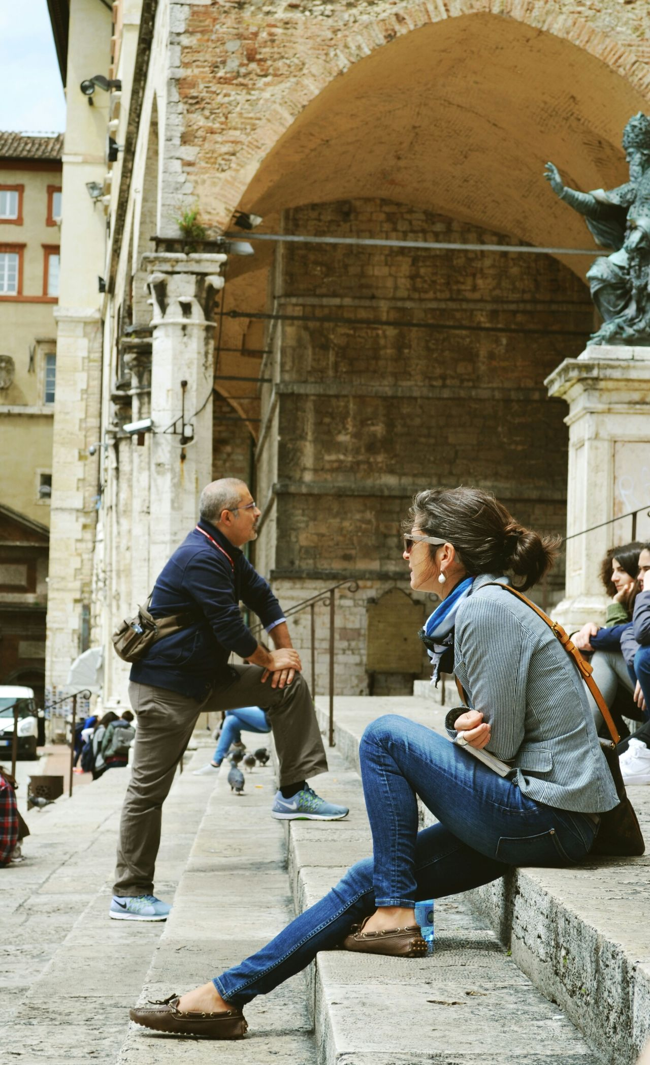 Square People Perugia Girl Street Streetphotography The Street Photographer - 2015 EyeEm Awards Traveling EyeEm Best Shots Urban Lifestyle Greetings From Italy People Photography Up Close Street Photography Not An Ordinary Postcard