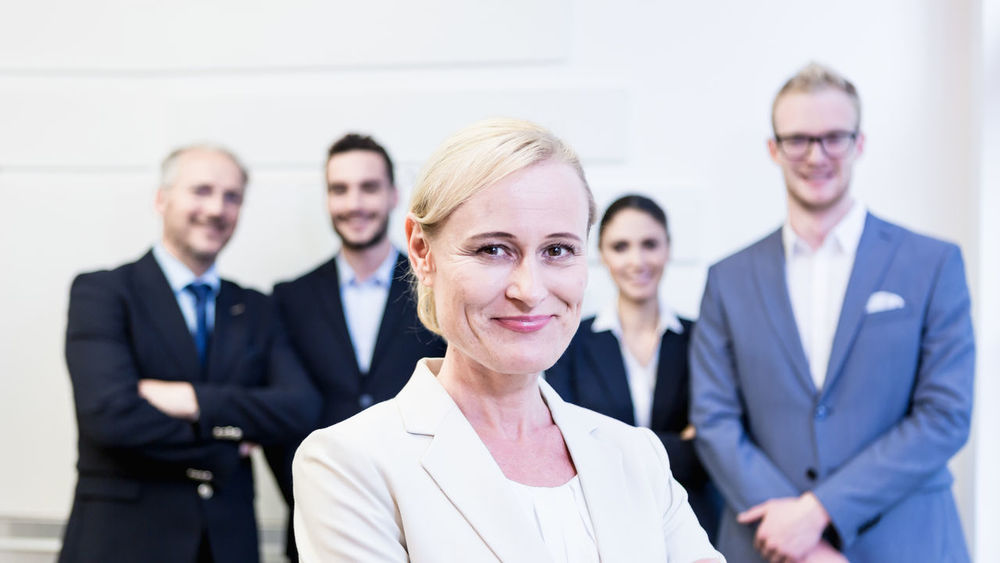Adult Adults Only Business People Business Women Businesswoman Colleague Corporate Coworker Double Exposure Female Females Leader Looking At Camera Modern Office People Portrait Professional Occupation Smiling Supporters Team White Collar Worker