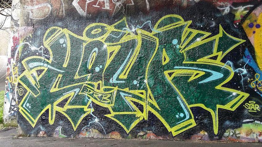 Artistic Original Photo Graffiti & Streetart Graffiti Roma presso ponte delle valli 🎨 🌈 🔴 🔵 ⚪ ⚫ Graffiti Art Iloveit Streetart Graffiti Graffitiporn Street Art/Graffiti Art In Progress Graffiti Wall Arteurbana Artist parte 9 Artedistrada Samsung A3 Urban Art GraffitiTour Graffitilover Urbanexploration