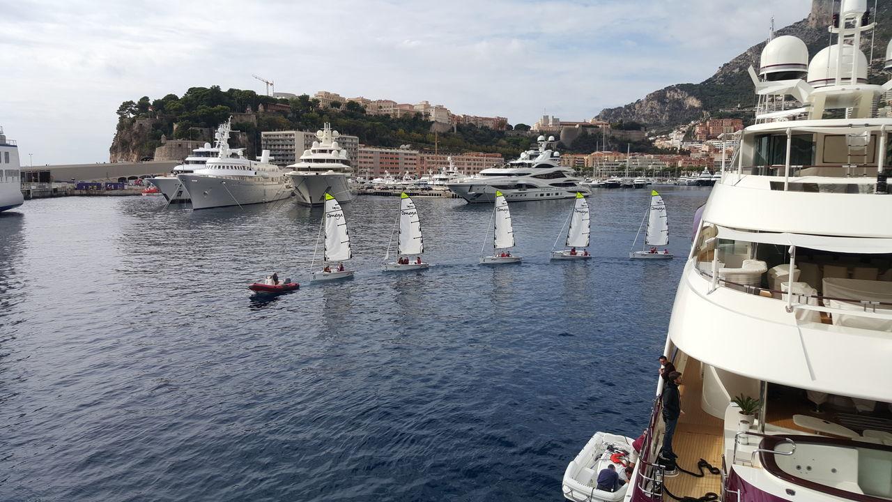 Monaco Nautical Vessel Water Transportation Harbor Beauty In Nature Sailboat Outdoors Sky Monaco South Of France