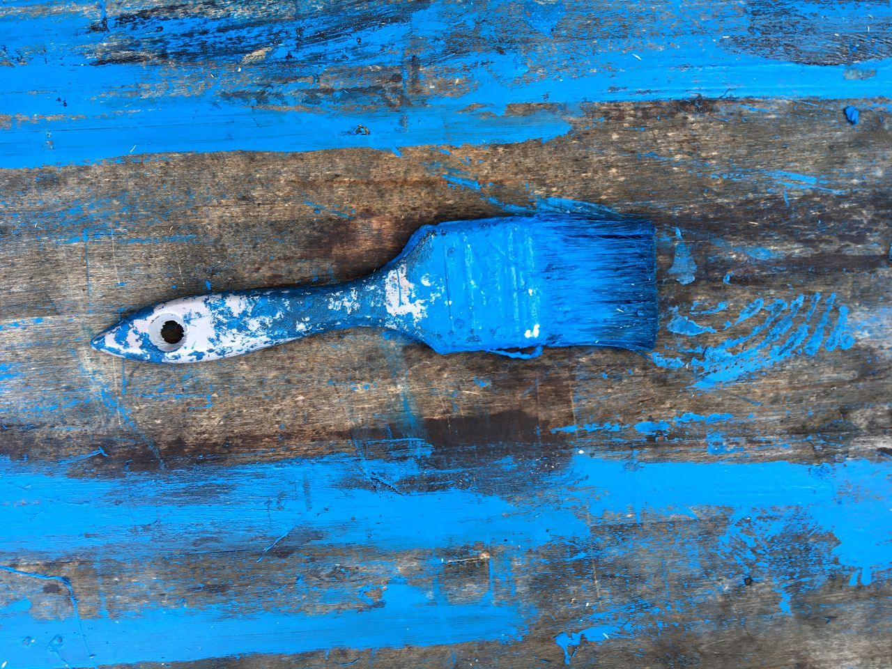 Blue Weathered Rough Metal Textured  Rusty Paint Backgrounds Full Frame No People Close-up Outdoors Day Colors Paint Craft Brush