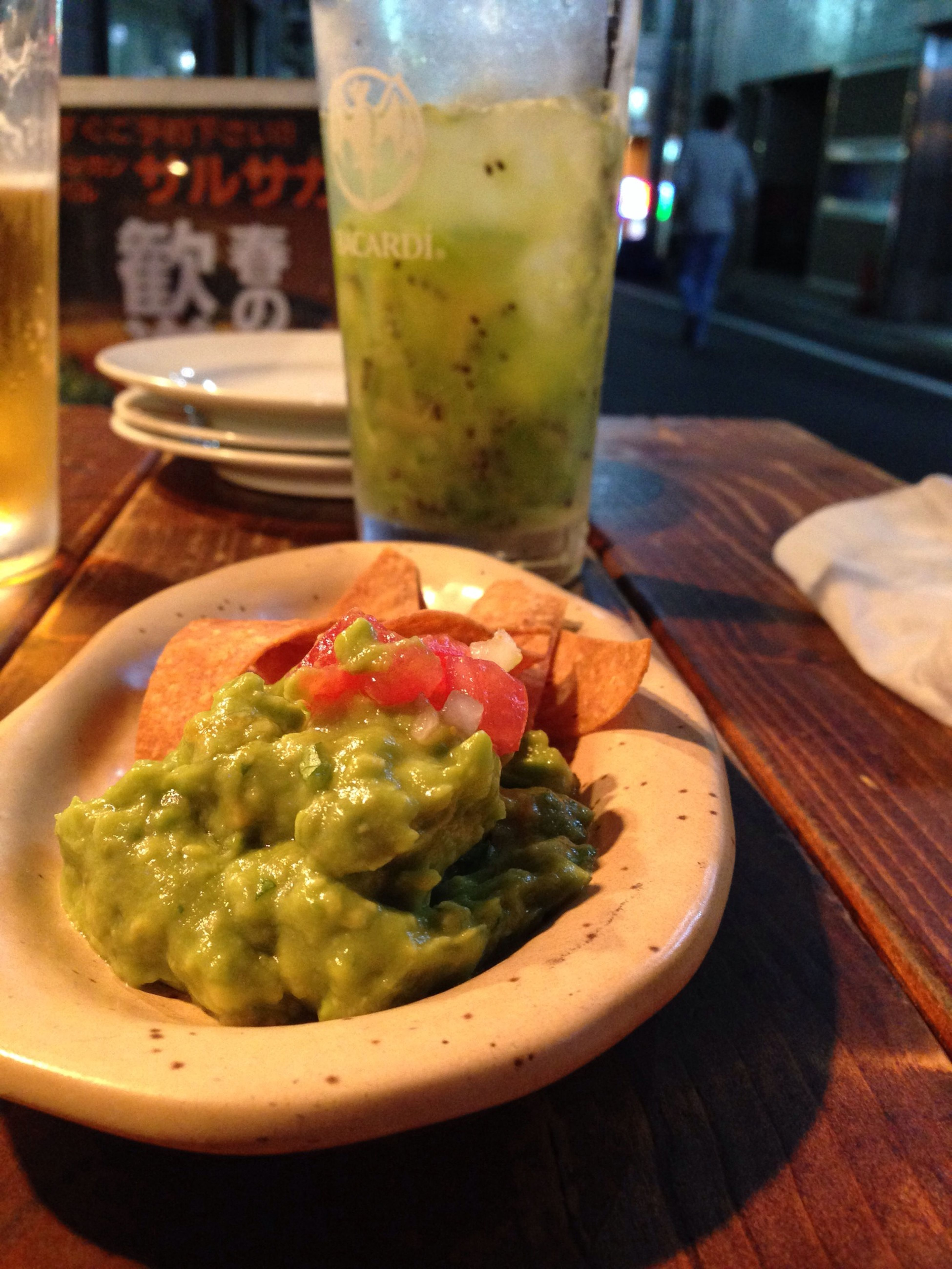 yummy!! Mexico Tacos 四ツ谷 Enjoying A Meal