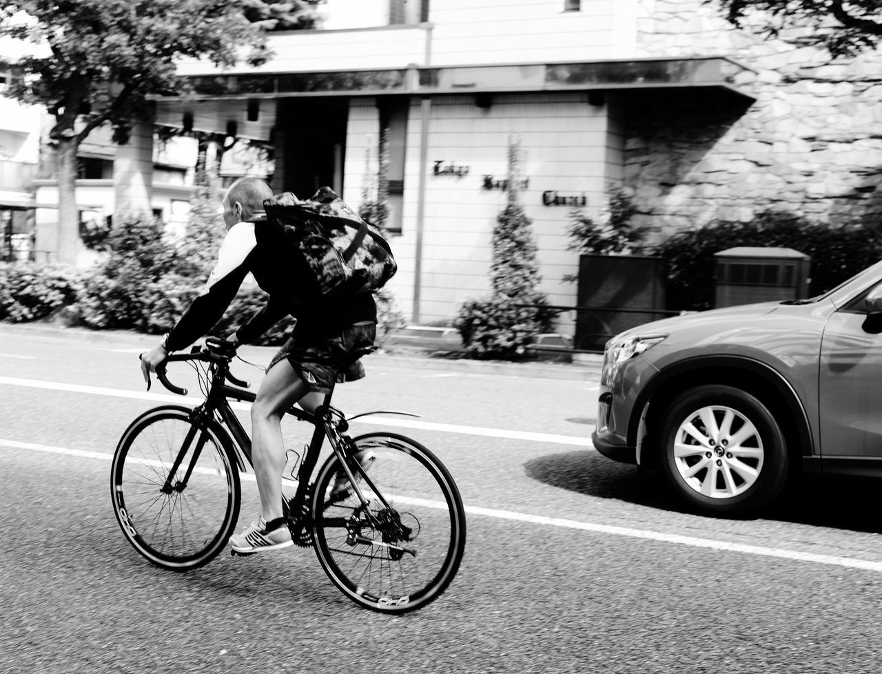 Race Bicycle Street Transportation On The Move Land Vehicle Mode Of Transport Cycling City Road Race Car Automobile Monochrome Photography Monochrome Blackandwhite Blackandwhite Photography Black And White