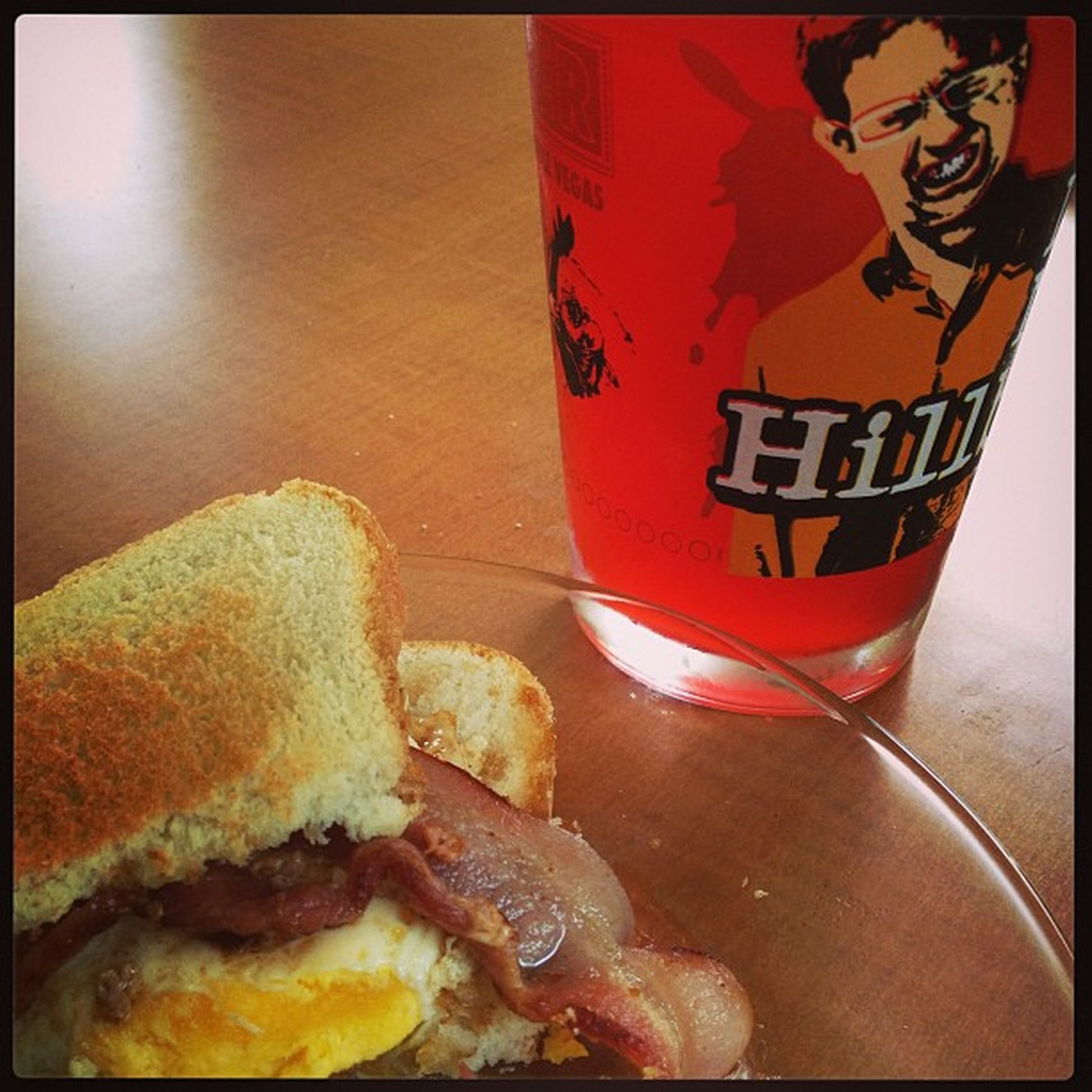 Baconeggsandwhich Fruitpunch Koolaid Ohhyeaeah selfmade delicious