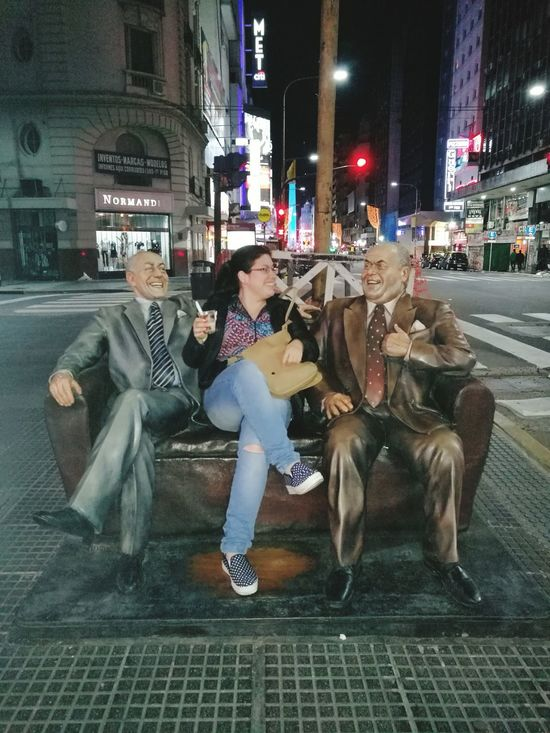 Enjoy The New Normal City Street Night Outdoors Buenos Aires Citytour 2016