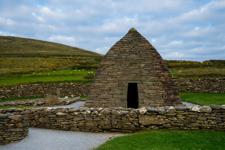 Ancient Ancient Civilization Architecture Building Exterior Built Structure Cloud - Sky Day Dingle Dingle Peninsula History Ireland Kerry Nature No People Old Ruin Outdoors Pyramid Ring Of Kerry Sky Travel Destinations Wild Atlantic Way