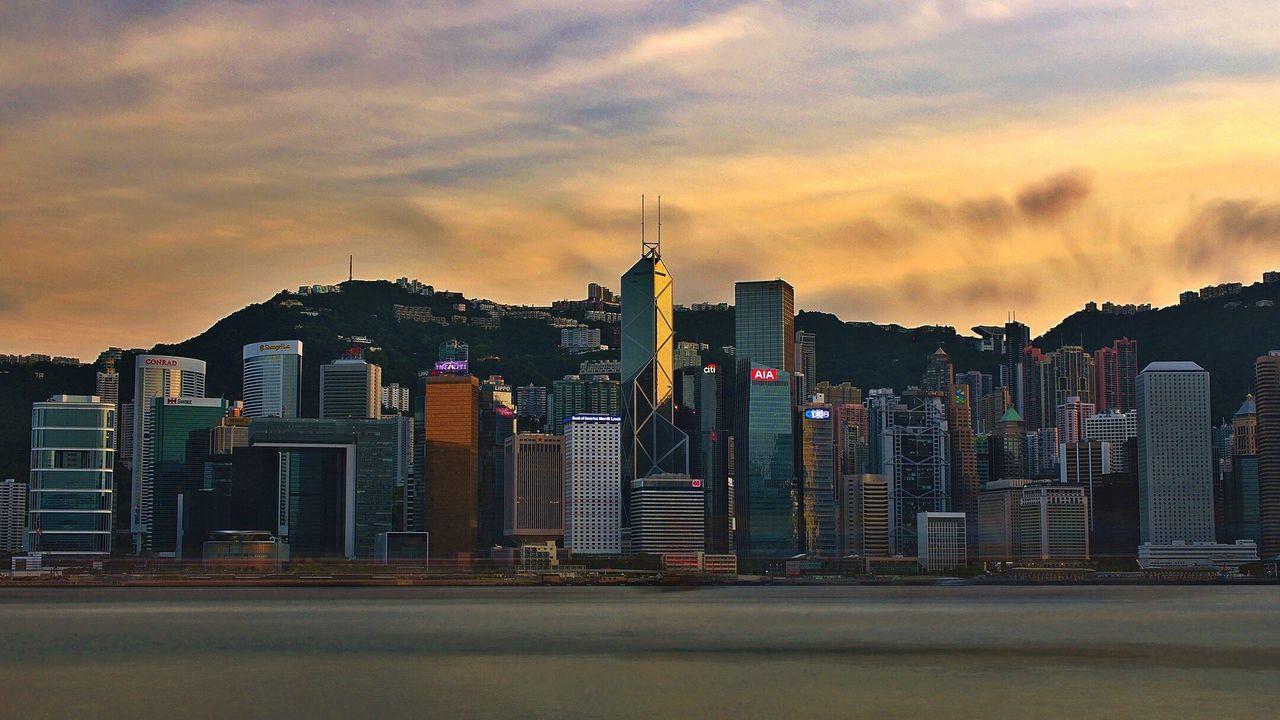 Loving HK Hong Kong Skyline Hong Kong Victoria Harbour Hong Kong City Great Outdoors The Architect - 2016 EyeEm Awards