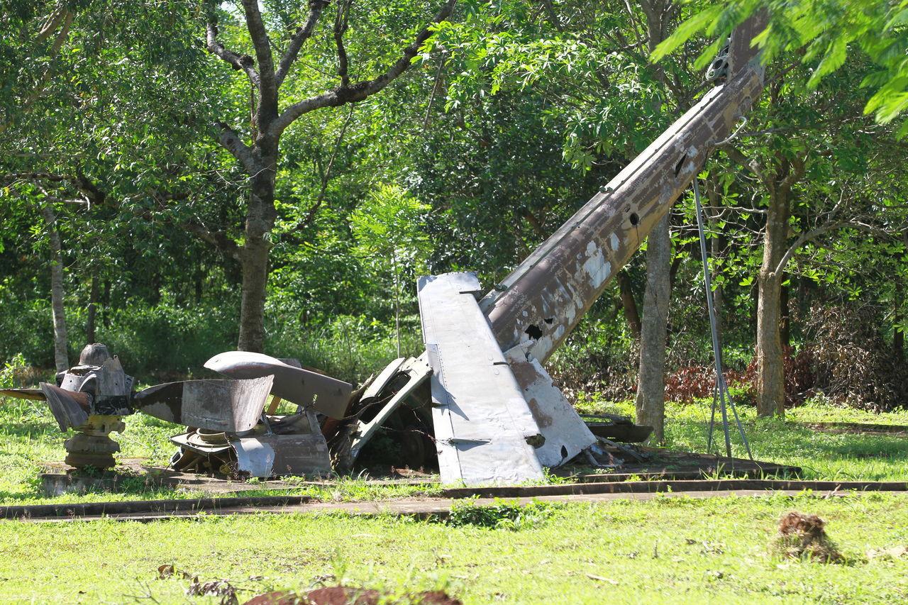 Airplane Crash Vietnam War Memorial