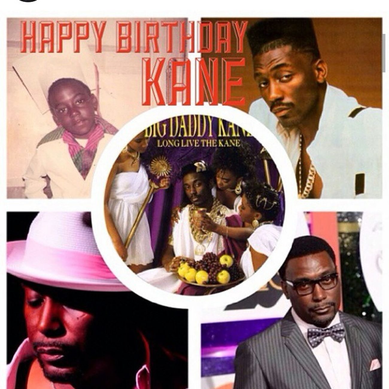 HappyBirthday BigDaddyKane Repost from his page @officialbigdaddykane